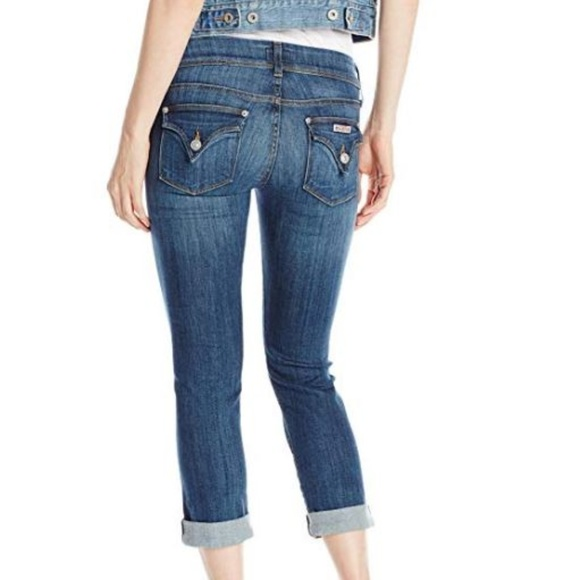 a05300af920 Hudson Jeans Jeans | Hudson Ginny Straight Crop With Cuff | Poshmark